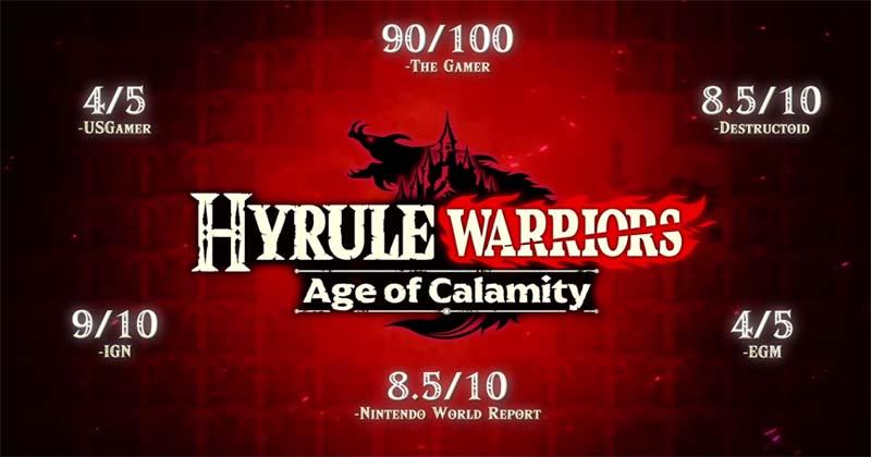 Nuevo tráiler de méritos de Hyrule Warriors: La era del cataclismo