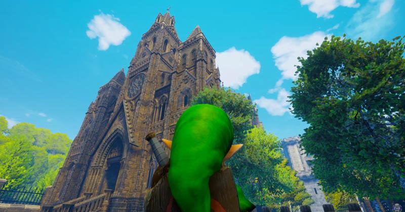 Un nuevo remake de Ocarina of Time llega a Unreal Engine 4