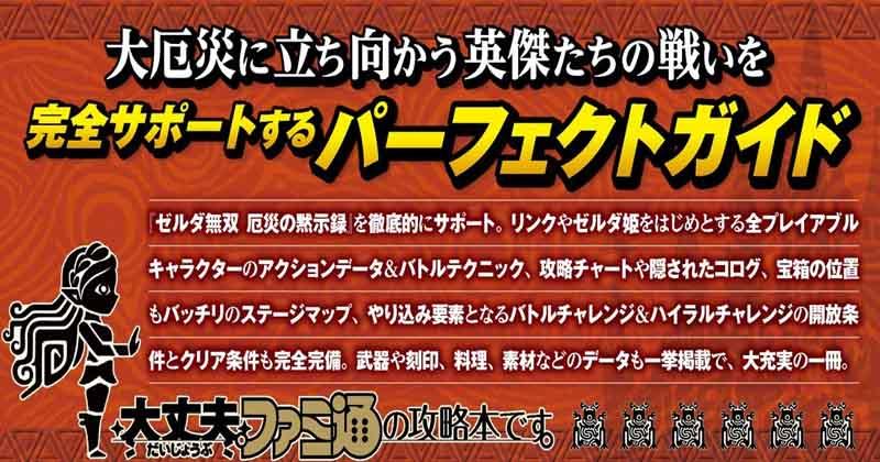 Ya disponible la guía japonesa de Hyrule Warriors: La era del cataclismo