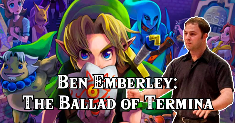 Un músico de la Symphony of the Goddesses crea su homenaje al 20 aniversario de Majora's Mask: The Ballad of Termina
