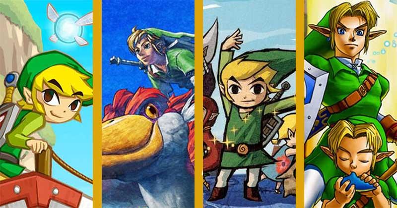 Nintendo vuelve a registrar la marca comercial de Phantom Hourglass, Skyward Sword, Ocarina of Time y The Wind Waker en Australia