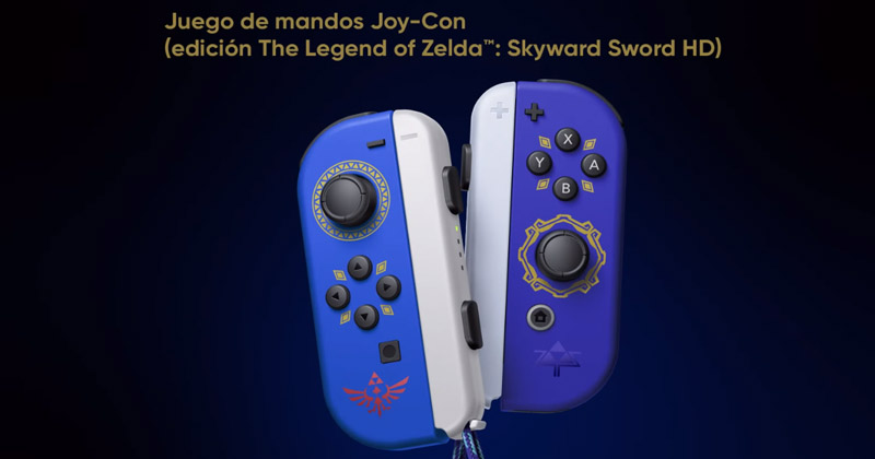 Nintendo destaca que los controles de Skyward Sword HD han sido mejorados