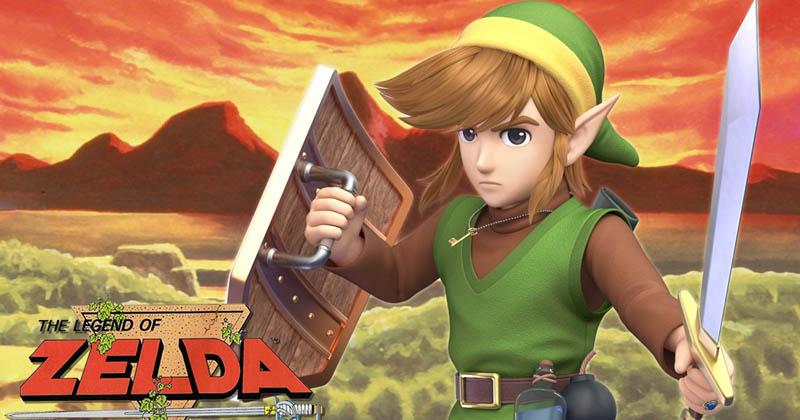 Un fan lleva al Link original a Super Smash Bros. Ultimate