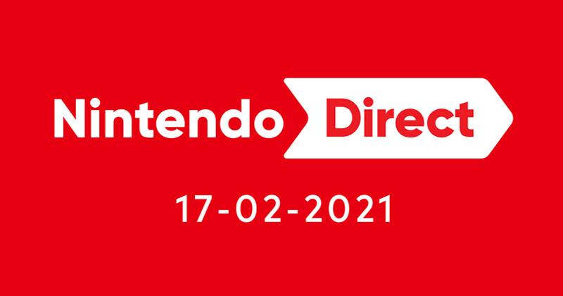 Nuevo Nintendo Direct anunciado para el 17 de febrero a las 23:00