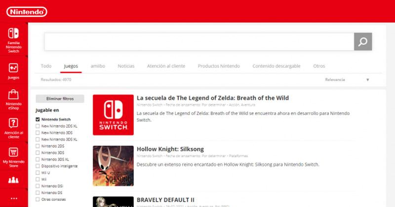 Nintendo actualiza la ficha de la secuela de Breath of the Wild en la eShop, avivando los rumores de verla mañana en el Nintendo Direct