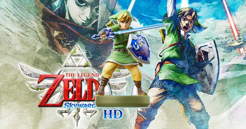 Skyward Sword HD tendrá compatibilidad con amiibo