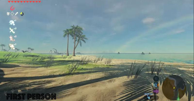 Fan crea un mod para jugar a Breath of the Wild en Realidad Virtual