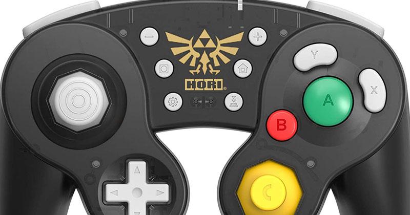 Hori presenta su nuevo mando tipo GameCube de Zelda para Nintendo Switch