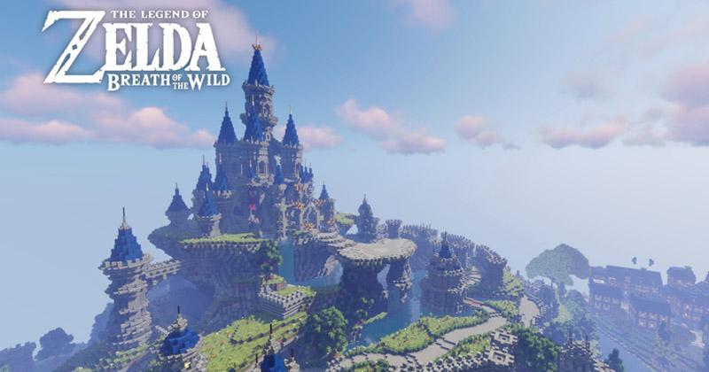 NintendoBlackCrisis presenta su servidor de Zelda en Minecraft