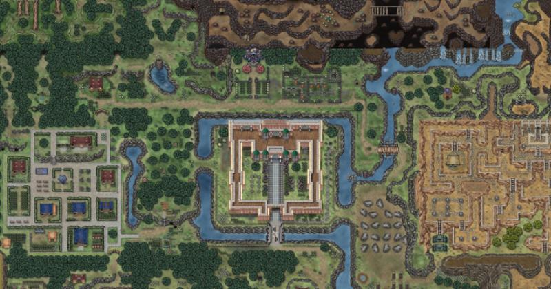 El Hyrule de A Link to the Past, recreado en Dungeons & Dragons