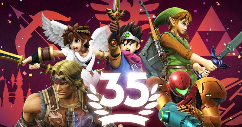 Torneo 35º. aniversario en Super Smash Bros. Ultimate