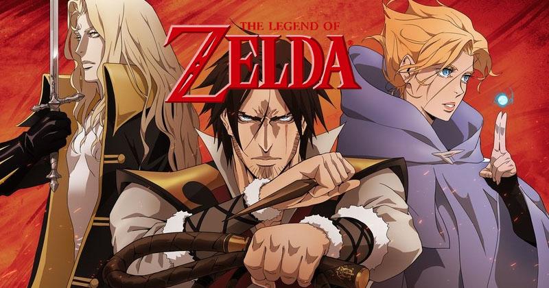 ¿Un anime de Zelda? Al editor del anime de Castlevania (Netflix) le gustaría hacerlo
