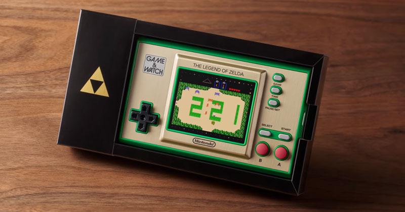 Nintendo anuncia Game & Watch: The Legend of Zelda