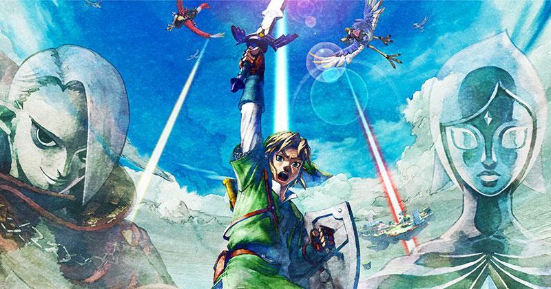 Las regiones de Skyward Sword