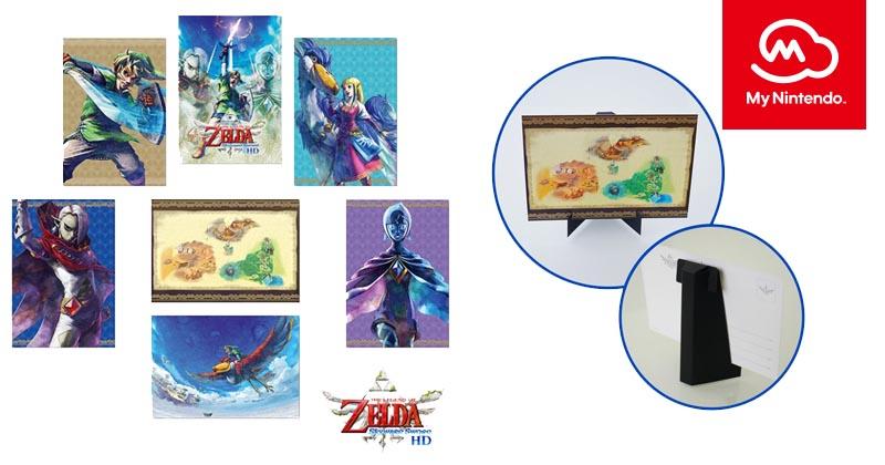 Consigue siete postales XL tematizadas en Skyward Sword HD
