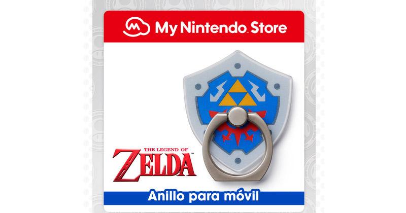 Anillo para móvil de Link's Awakening en MyNintendo