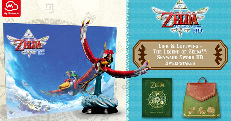 Nintendo of America propone un sorteo tematizado en Skyward Sword HD