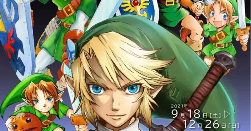 Exposición de arte del manga de The Legend of Zelda de Akira Himekawa en septiembre