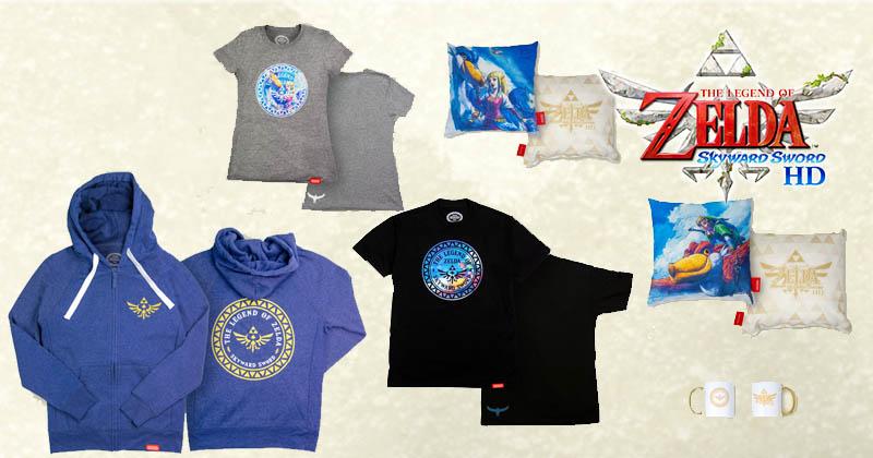 Nuevas colección de merchandising de Skyward Sword en Nintendo New York Store
